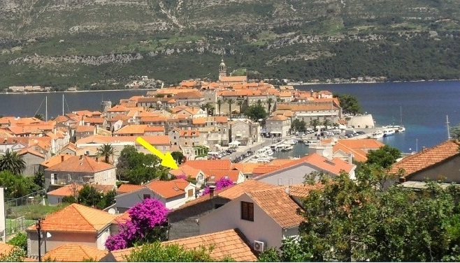 Apartments Keti, luxurious accommodation Korcula, view on the old town Korcula, Apartments Korcula, Rooms Korcula